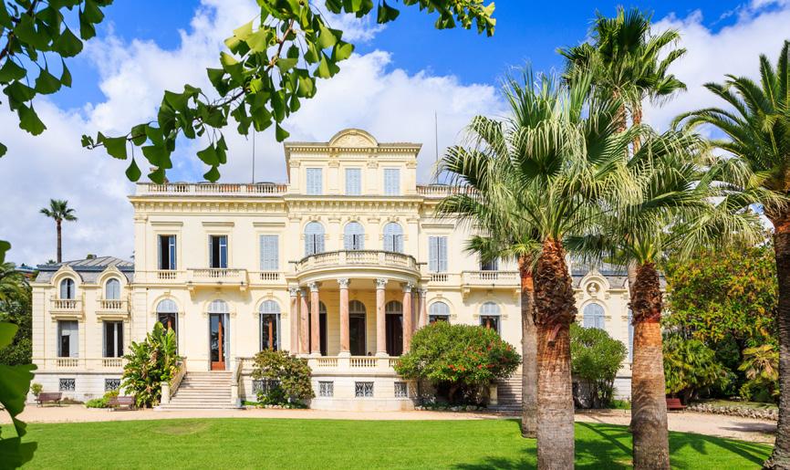 Jardins de la Villa Rothschild - Département des Alpes-Maritimes