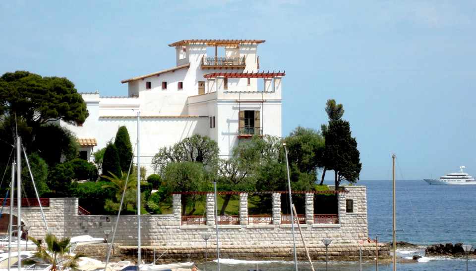Jardins de la villa k rylos d partement des alpes maritimes for Jardin villa ratti nice
