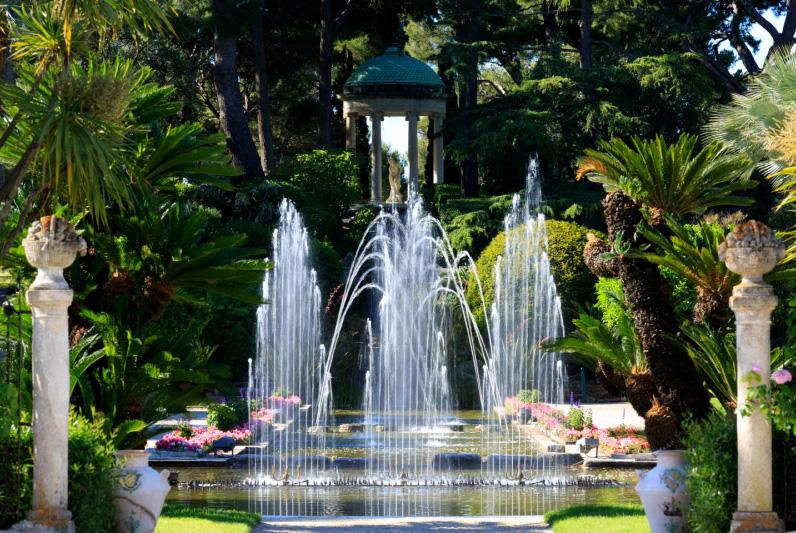 Jardins de la villa Ephrussi de Rothschild - Département des Alpes ...