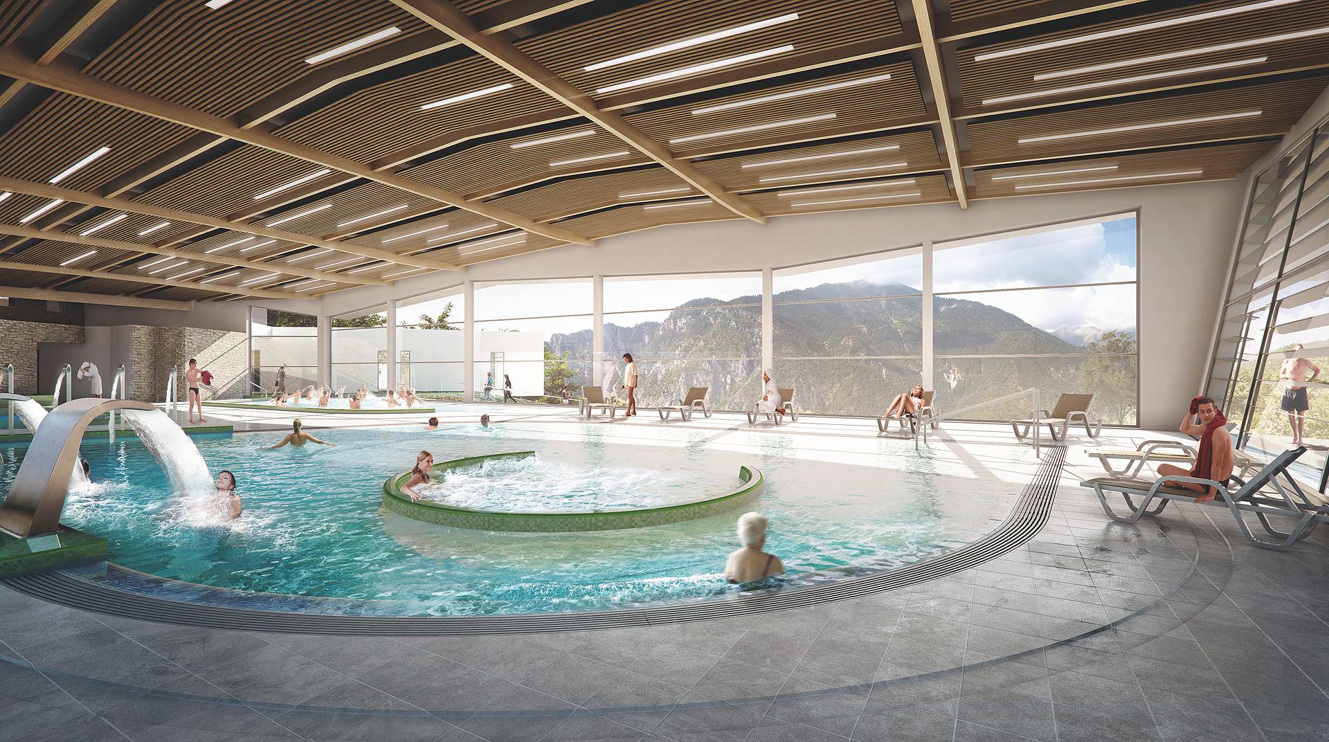 Complexe thermal de berthemont les bains d partement des - Office de tourisme de thonon les bains ...