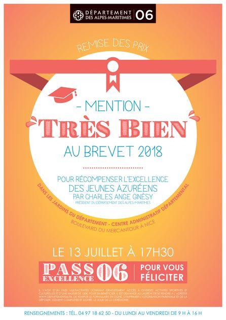 Remise De Prix Du Departement Aux Titulaires De La Mention Tres