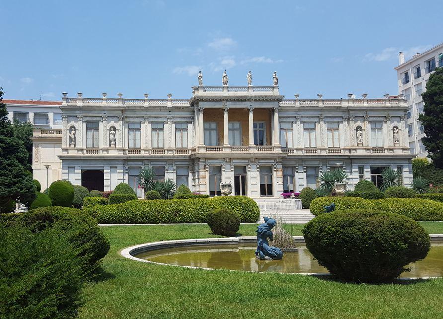 Jardin du palais de marbre villa les palmiers for Garage les palmiers nice