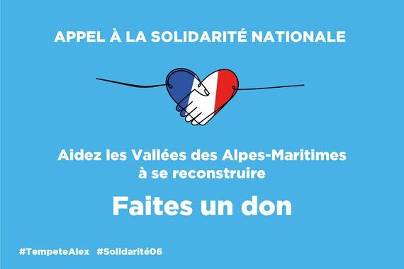 Aidez les vallées des Alpes-Maritimes à se reconstruire - Faites un don - Image en taille réelle, .JPG 462Ko (fenêtre modale)